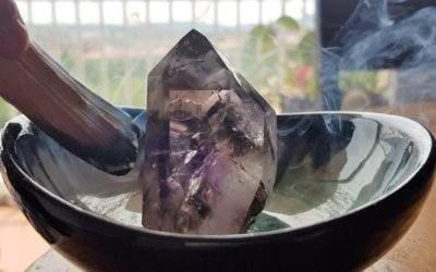 ¿Cómo limpiar un cristal de cuarzo?