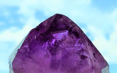 Cristal del Nuevo Año Tormenta Lunar – La Amatista