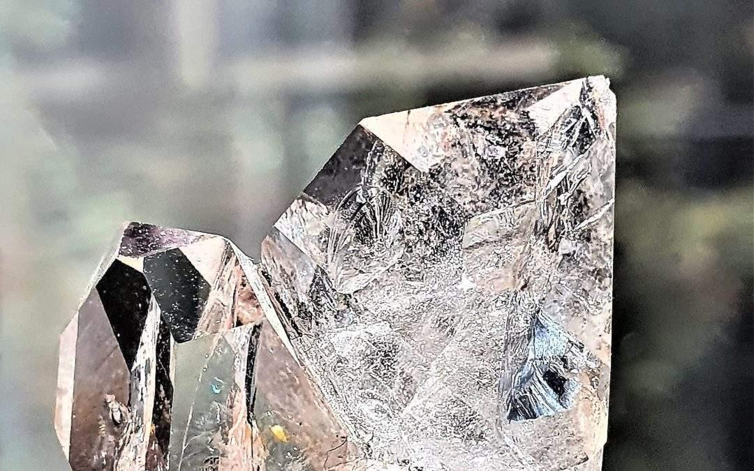 El Alma del Cuarzo Maestro Diamante Herkimer